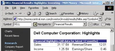 Advanced Stock Bar 1.00 screenshot