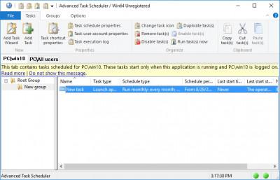 Advanced Task Scheduler 5.1.0.701 screenshot