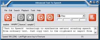 Advanced Text to Speech 3.6 screenshot