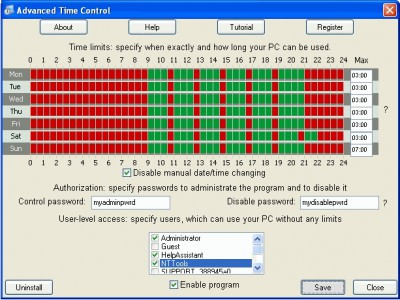 Advanced Time Control 0.91 screenshot