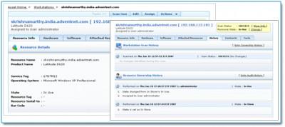 AdventNet ManageEngine Asset Explorer 4.0 screenshot