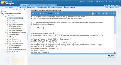 AdventNet QEngine 6.9 screenshot