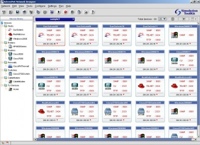AdventNet Simulation Toolkit 6 screenshot