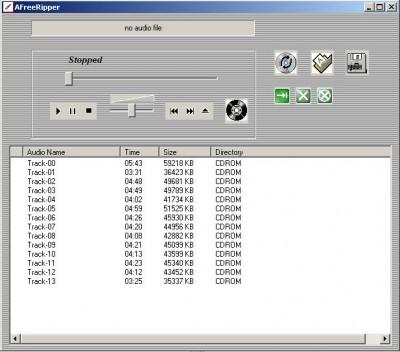 AFreeRipper 6.28 screenshot