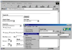 AFSearch offline html search engine 9.52 screenshot
