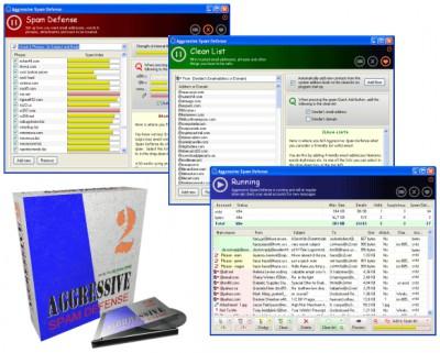 Aggressive Spam Defense 2.32 screenshot