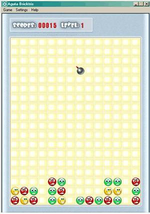 AGUTA Brick Tris 1.0 screenshot