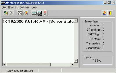 Air Messenger ASCII 10.0.0 screenshot