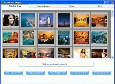 AIV Wallpaper Changer 1.1 screenshot