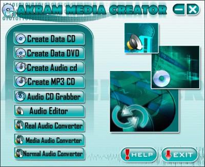 AKRAM Media Creator 1.11.763 screenshot