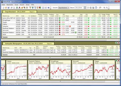 AktienProfi Depotverwaltung 4.09.1 screenshot