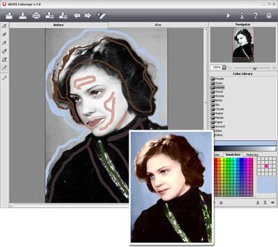 AKVIS Coloriage 8.0 screenshot