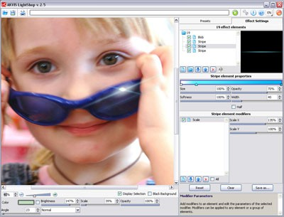 AKVIS LightShop 4.0 screenshot