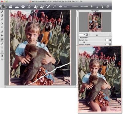 AKVIS Retoucher 6.0 screenshot