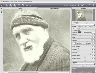 AKVIS Sketch 14.0 screenshot