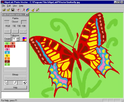Algolab Photo Vector 1.98.9 screenshot