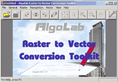 Algolab Raster to Vector Conversion CAD/GIS SDK 2.55 screenshot