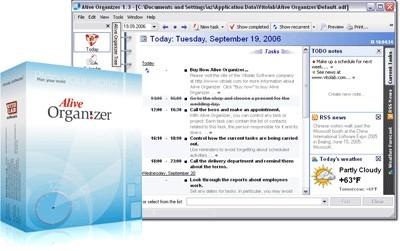 Alive Organizer 3.11.17.03 screenshot
