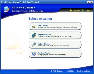 All in one Cleaner 3.53 screenshot