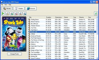 All-in-One DVD Player 1.6.4 screenshot
