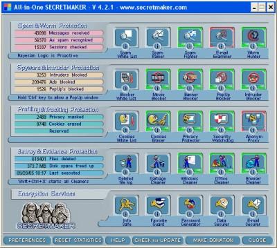 All in One SECRETMAKER 4.1.2 screenshot