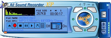 All Sound Recorder XP 2.26 screenshot