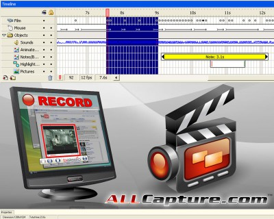 ALLCapture Enterprise 3.0 screenshot