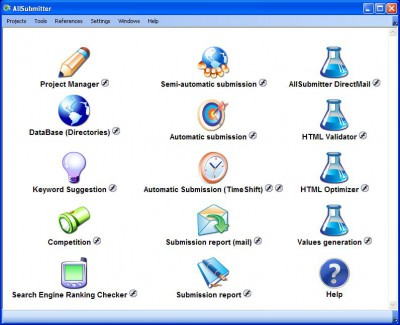 AllSubmitter 5.3 screenshot