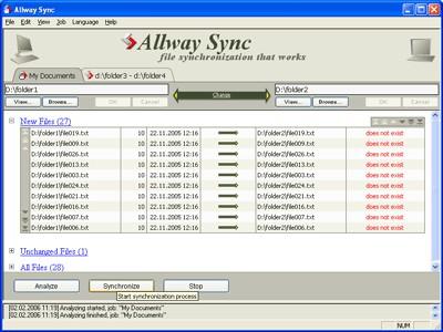 Allway Sync 12.2.3 screenshot