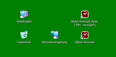 Allzeit Atomzeit 2.00 screenshot
