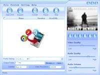 Almost DVD to Zune Converter 2.1.45 screenshot