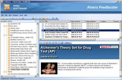 Alnera FeedBuster RSS Reader 1.1.29 screenshot