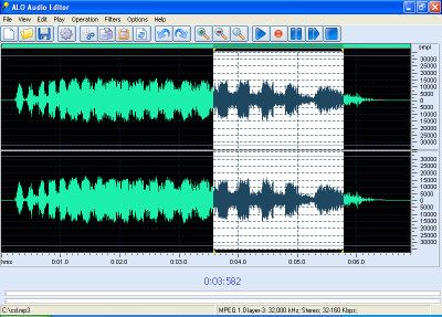 ALO Audio Editor 3.3.599 screenshot