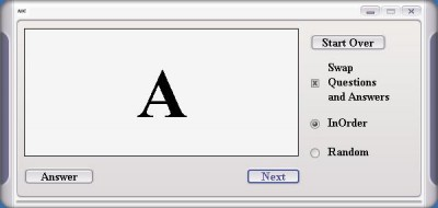 Alphabet Flash Cards 1 screenshot