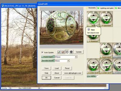 AlphaPhotoFX 1.0 screenshot