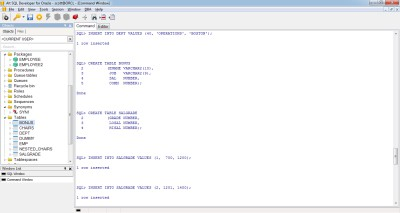 Alt SQL Developer for Oracle 1.27.115 screenshot