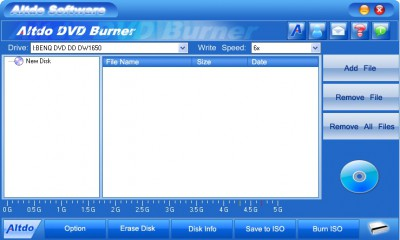 Altdo  DVD Burner 6.3 screenshot