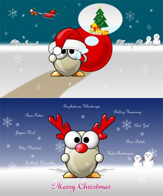 ALTools Christmas Desktop Wallpapers 2004 screenshot