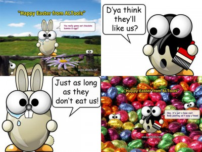 ALTools Easter Desktop Wallpapers 2006 Series-8 screenshot