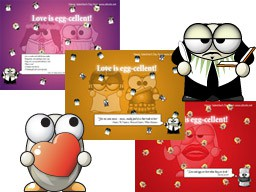 ALTools Valentines Day Desktop Wallpaper 2005 screenshot