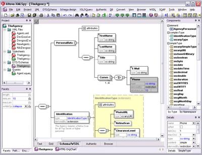 Altova XMLSpy Professional Edition 2017sp2 screenshot