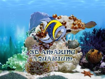 Amazing 3D Aquarium - Animated Screensaver and Wal 2.60 screenshot