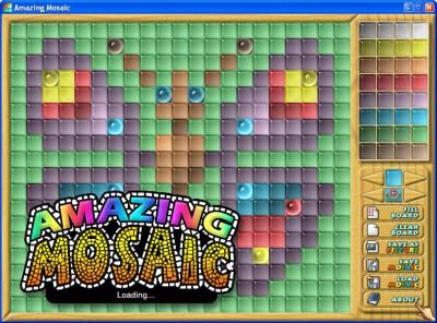 Amazing Mosaic 1.0 screenshot