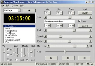 Amazing Slow Downer for Windows 3.2.3 screenshot