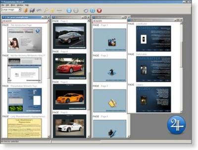 AMC Presentation Wizard 7.0a.1 screenshot