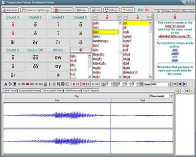 American English Pronunciation Patterns Pro 3.0 screenshot