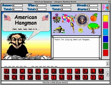 American Hangman - Presidents and States 2.0.6 screenshot
