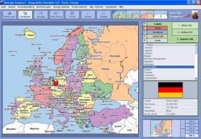 Amerigo Vespucci - Geographie interaktiv 4.0 screenshot