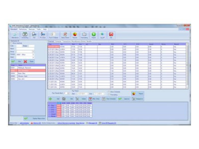 AMGtime Software 2.3.0.0 screenshot