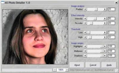 AmphiSoft Photo Detailer 1.12 screenshot